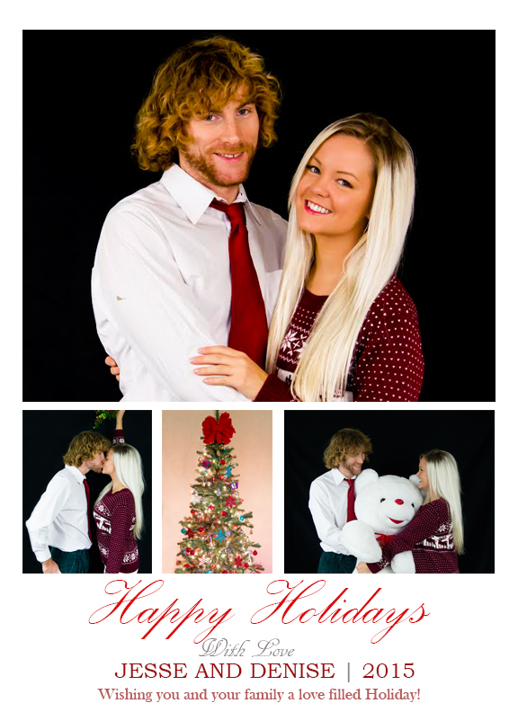 Holiday Christmas Card 3